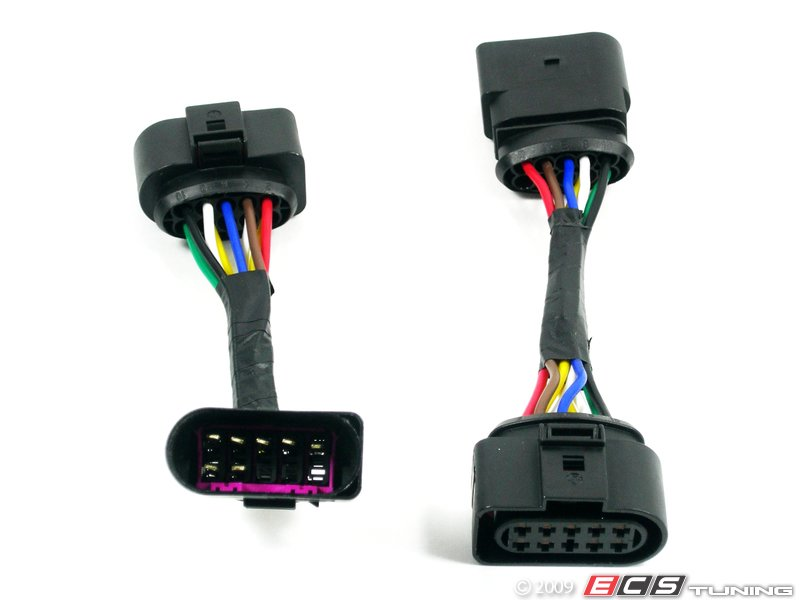 10001_x800 ecs 1j0998003kt leveling harness kit stage 2 vw golf mk4 headlight harness at fashall.co
