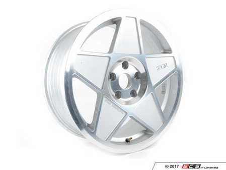 """ES#3464875 - 3S5982CSD - 19"""" Style 0.05 Wheel - single *Scratch And Dent* - 19x8.5"""" ET35 72.6CB 5x120. Polished with silver accents. - 3SDM - BMW"""
