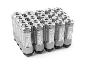 ES#3466872 - SHC3P-POL-14x1.5 - 3-Piece 60mm Capped Lug Nuts - Polished - Set of 20 3-piece locking lug nuts - Sickspeed - Audi Volkswagen