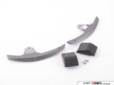 ES#3420974 - BM-0164-SG - Competition Shift Paddles - Steel Grey - Racing paddles for M-DCT transmission - AUTOTECKNIC - BMW