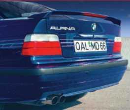 ES#3448352 - 4100183 - Alpina Rear Spoiler - Type 178 rear spoiler, direct from Alpina - with third brake light - Alpina -