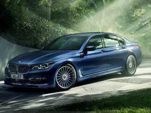 ES#3448519 - 4110116 - Alpina Contour Lines - Silver - Front Spoiler Only - Body graphics for front spoiler only - Alpina - BMW