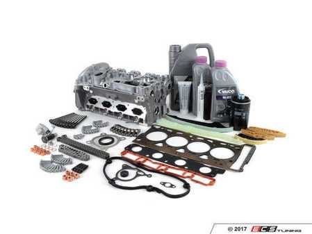 ES#3191272 - 06H103064ACKT - Complete Cylinder Head Overhaul Kit - A complete engine overhaul for a case of an unfortunate turn of events, ultimately leading to bent valves - Assembled By ECS - Audi