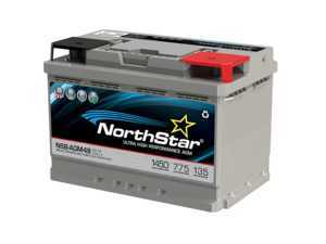 ES#3469426 - NSB-AGM-48 - NorthStar Ultra High Performance AGM Battery - 48/H6 - Pure lead AGM battery with high reserve capacity and cranking amps - NorthStar - Audi BMW Volkswagen Mercedes Benz MINI Porsche