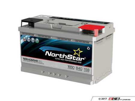 ES#3469430 - NSB-AGM-94R - NorthStar Ultra High Performance AGM Battery - 94R/H7 - Pure lead AGM battery with high reserve capacity and cranking amps - NorthStar - Audi BMW Volkswagen Mercedes Benz Porsche