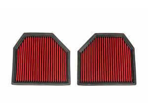 ES#3458318 - EVE-F10M5-PF - High Flow Panel Filter Pair - Improved flow without breaking the bank! - Eventuri - BMW