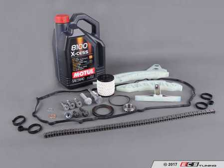ES#3219070 - 11314609483kt6 - Timing Chain Kit - Ultimate  - Needed to replace the timing chain in your MINI with Oil Service kit & Valve cover gasket - Assembled By ECS - MINI