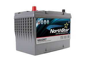 ES#3469417 - NSB-AGM-27 - NorthStar Ultra High Performance AGM Battery - 27 - Pure lead AGM battery with high reserve capacity and cranking amps - NorthStar - Volkswagen