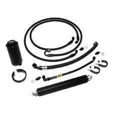 ES#3464950 - E30-S54PSK-PSC - Power Steering Kit - with Inline Cooler  - Complete power steering line and reservoir upgrade kit! - Chase Bays - BMW