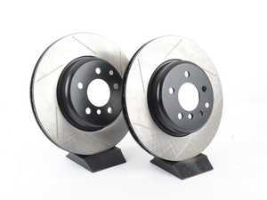 ES#3033105 - 34206797607GS - Gas-Slotted Brake Rotors - Rear - This design removes performance robbing outgas and material dust caused by braking - StopTech - BMW
