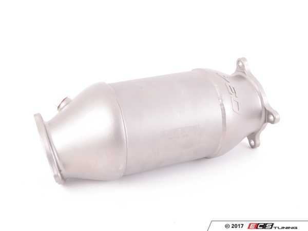ES#3469297 - 034-105-4043 - 034Motorsport Cast Stainless Steel Racing Catalyst  - offers increased hp/tq throughout the powerband, improved throttle response, and an enhanced exhaust note! - 034Motorsport - Audi