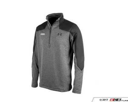 ES#3232495 - ACM2313BLK2X -  Under Armour Expanse 1/4 Zip - 2X-Large - Audi rings embroidered. Tight Fit. - Genuine Volkswagen Audi - Audi BMW Volkswagen Mercedes Benz MINI Porsche
