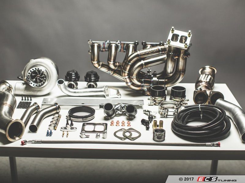 DocRace DOCNTM DocRace Ii N Top Mount Single Turbo Kit - Bmw 335i turbos