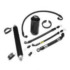ES#3464959 - E36-S54PSK-PSC - Power Steering Kit - with Inline Cooler  - Complete power steering line and reservoir upgrade kit! - Chase Bays - BMW