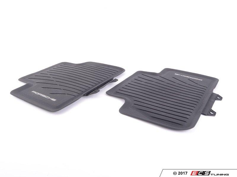 es3153996 rubber floor mats black set of four rubber u2039 u203a