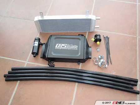 ES#3470657 - GRS4RED - MINI Cooper S Charge Mk1 Cooler System - Red Hose - Water to air intercooler system that reduces heat much faster than the stock air to air system - GRS Motorsport  - MINI