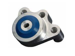 ES#3470669 - APK-10A2134_A - Performance Rear Differential Mount - Street (Blue) - Eliminate excessive rear diff movement and cure the dreaded shifting/acceleration clunk - Apikol Performance Automotive - Audi Volkswagen