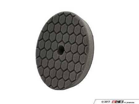 ES#3450471 - BUFX116HEX6 - Hex-Logic Quantum Finishing Pad, Black (6.5 Inch) - Quantum Physics design maximizes surface contact, reduces and disperses heat, and reduces wear and tear on machine and pad - Chemical Guys - Audi BMW Volkswagen Mercedes Benz MINI Porsche