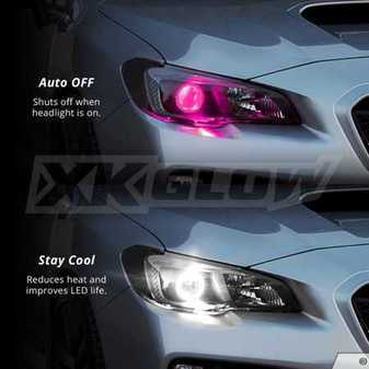 ES#3469967 - XK042009-NC - XK Glow Million Color Demon Eye Add-on Upgrade Kit - Does not include Bluetooth controller. - XKGLOW - Audi BMW Volkswagen MINI