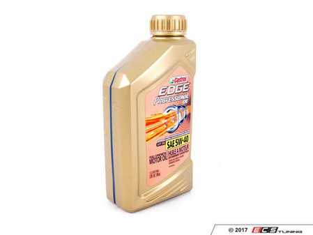 ES#3457624 - GE525021QDSP - Edge Professional OE Engine Oil (5w-40) - 1 Quart - Meets Volkswagen & Audi 502.00 / 505.00 specification - Genuine Volkswagen Audi - Audi Volkswagen