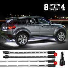 ES#3469874 - XK041005-W - XK GLOW LED Underglow Kit. - Single color 12pc interior and under-body Kit - White. - XKGLOW - Audi BMW Volkswagen MINI