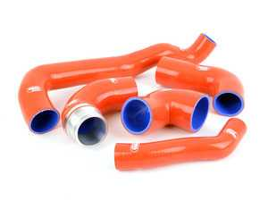 ES#3145860 - TCS382-RED - Turbo / Intercooler Silicone Hose Kit - RED - Set of 5 hose kit to replace your OEM hoses - Samco - MINI