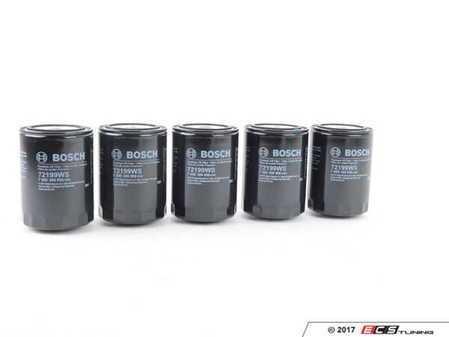 ES#3149765 - 068115561bbosKT - Bosch Oil Filter - Pack Of 5 - Stock up with this 5 pack - Bosch - Audi Volkswagen