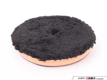 """ES#2777970 - BUFX3046 - Black Optics Microfiber Orange Cutting Pad (6.5"""") - Chemical Guys Black Optics Microfiber Polishing Pads remove swirl marks, scratches, and restore clarity and reflection to paintwork. - Chemical Guys - Audi BMW Volkswagen Mercedes Benz MINI Porsche"""