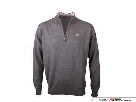 ES#3109177 - ACM1997CHA2X - Peter Millar 1/4 Zip Sweater - XX-Large - 100% merino wool. Classic fit. - Genuine Volkswagen Audi - Audi BMW Volkswagen Mercedes Benz MINI Porsche