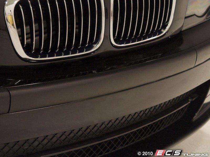 Genuine BMW  51118195304  License Plate Filler  Black