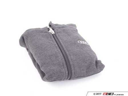 ES#3133436 - ACM2699CHA4T - Full Zip Toddle Hoodie - Charcoal - 4T - Toddle hoodie with Audi rings logo - Audi Collection - Audi