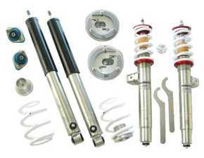 ES#4069949 - TCKE46DblKit - TC Kline Racing Double Adjustable Street/Track Coilover Kit - Lifetime warranty on street-driven cars! Featuring proprietary double-adjustable Koni dampers, front camber plates, and 400#F/500#R springs - TC Kline Racing - BMW