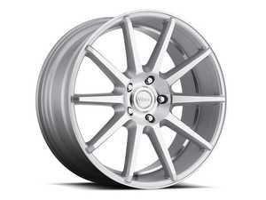"ES#3479251 - dn285511232ssKT1 - 20"" Danza - Set Of Four - 20x8.5 ET32 5x112 66.56CB - Silver/Machined Face and Undercut - Voxx wheels - Audi"