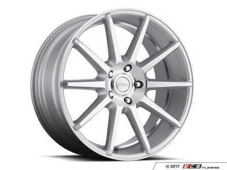 "ES#3479232 - dn880511232smKT1 - 18"" Danza - Set Of Four - 18x8 ET32 5x112 66.56CB - Silver/Machined Face and Undercut - Voxx wheels - Audi MINI"