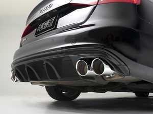 ES#3200799 - 021532ECS01A - Carbon Fiber Rear Diffuser - Hand-laid carbon fiber to upgrade your exterior styling - ECS - Audi