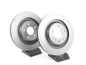 ES#3184398 - 4H0615601H - Rear Brake Rotors - Pair (330x22) - Restore your vehicles stopping power - Brembo - Audi