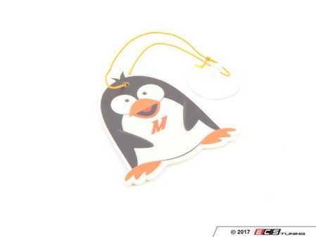 ES#2951702 - MMPROMOFRESHCIN - Mishimoto Chilly Air Freshener - Cinnamon Scent - Support your Mishimoto pride with this Penguin Mascot - Mishimoto - Audi BMW Volkswagen Mercedes Benz MINI Porsche