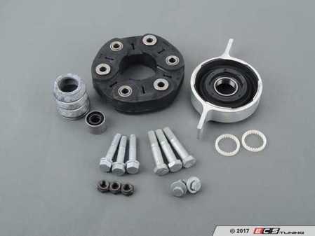 "ES#3234537 - 261175732761KT1 - Universal Flex Disc Kit - Includes ""Giubo"", center mount and hardware - Assembled By ECS - BMW"