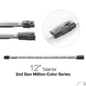 ES#3469803 - XK-3P-T-12 - XK Glow 2nd Gen 12in Million Color LED tube  - For Million Color Series - XKGLOW - Audi BMW Volkswagen MINI