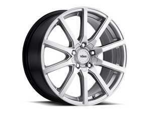 "ES#3477539 - est880500345sKT - 18"" Este - Set Of Four - 18x8 ET45 5x112/5x120 - Bright Silver - Voxx wheels - Audi Volkswagen"