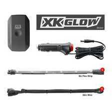 """ES#3469772 - KS-CAR-MINI - XK Glow XKChrome App controlled underglow Kit - Mini - 6x10"""" Flex Strips - XKGLOW - Audi BMW Volkswagen MINI"""