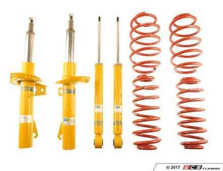 ES#2983813 - 46-183811 - B12 Sportline Kit - Featuring Eibach sportline springs and Bilstein shocks and struts - Bilstein - Volkswagen