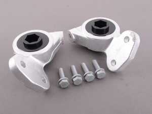 ES#3449083 - 020351TMS01-04 -  Turner Motorsport Polyurethane Front Control Arm Bushings - 95A - Pre-Installed In Brackets - Allows minimal deflection, resulting in a very streetable, affordable performance bushing that improves handling response and precision. - Turner Motorsport - BMW