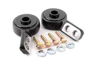 ES#3448671 - 012633TMS01-04 - Turner Motorsport Centered Polyurethane Front Control Arm Bushing - 95A - Pre-Installed In Brackets - A stiff bushing set that allows minimal deflection, resulting in a very streetable, affordable performance bushing that improves handling response and precision. - Turner Motorsport - BMW