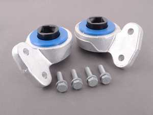 ES#3449272 - 013275TMS01-03 -  Turner Motorsport Polyurethane Front Control Arm Bushings - 80A - Pre-Installed In Brackets - A softer option versus 95a poly, Turner's 80a provides more engaging handling for the enthusiast seeking a spirited driving experience. - Turner Motorsport - BMW