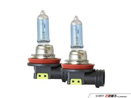 ES#3477281 - 23-10111 - PIAA H11 Xtreme White Hybrid Bulb - Pair - 55W bulbs with 3900K color light output for increased depth perception and contrast - PIAA - Audi BMW Volkswagen Mercedes Benz MINI Porsche
