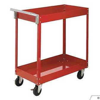 ES#3128004 - 8003SCD - Economy Service Cart RED - Durable cart for garage of shop - Sunex - Audi BMW Volkswagen Mercedes Benz MINI Porsche