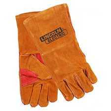 ES#2944189 - LEWKH642 - Brown Leather Welding Gloves - Protect yourself from hot sparks. - Lincoln Electric - Audi BMW Volkswagen Mercedes Benz MINI Porsche