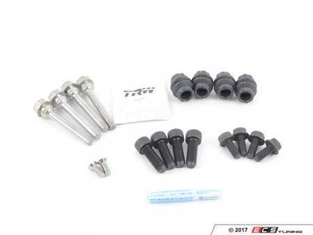 ES#2765809 - 1J0698451LINSKT1 -   rear pad and rotor installation kit - stage 1 - Restore both calipers while installing new pads and rotors - Assembled By ECS - Volkswagen
