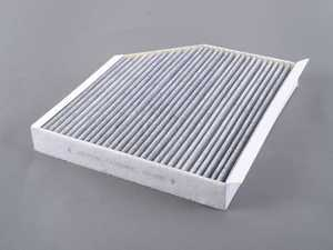 ES#3147611 - 8K0819439A - Charcoal Lined Cabin Filter / Fresh Air Filter - The activated charcoal filters odor from reaching the cabin - FILTERTECH - Audi